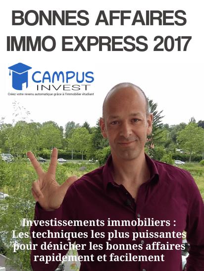 Bonnes Affaires Immo Express 2017 - simple