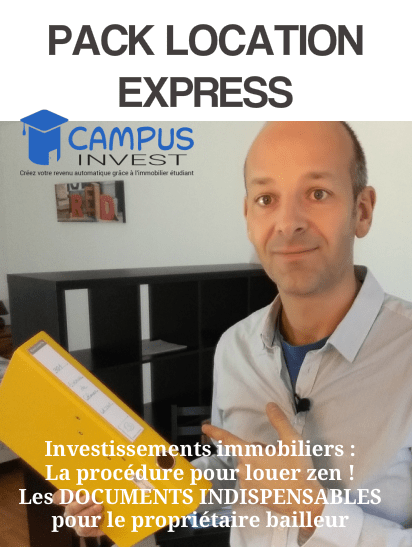 formations investissement immobilier : PACK location express - simple