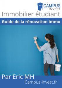 « Guide de la rénovation immobilière » guides investisseurs immobiliers